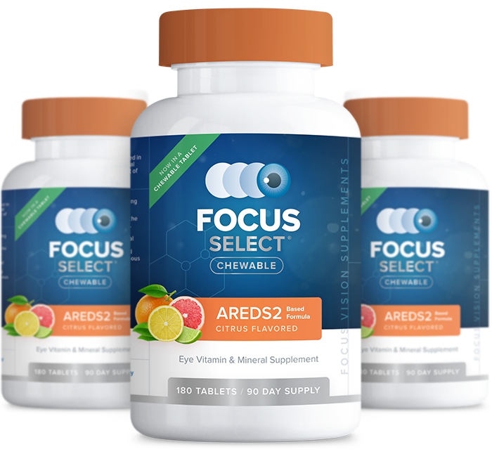 Focus Select Citrus Chewable