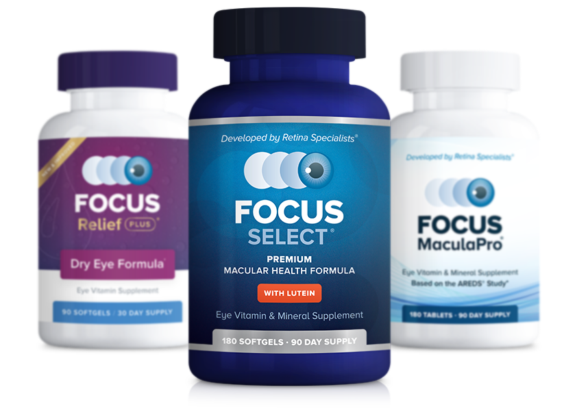 Focus Vision Supplement Products
